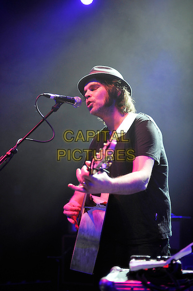 LONDON, ENGLAND - NOVEMBER 15: Gaz Coombes performing at 'A Peaceful Noise', Bataclan Memorial Concert at Shepherd's Bush Empire on November 15, 2016 in London, England.<br /> CAP/MAR<br /> &copy;MAR/Capital Pictures
