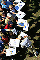 SERGIO GARCIA of the European Team sign golf memorabilia for fans on wednesday practice prior to the 37th Ryder Cup Matches, September 16 -21, 2008 played at Valhalla Golf Club, Louisville, Kentucky, USA ( Picture by Phil Inglis ).... ......