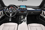 Stock photo of straight dashboard view of a 2015 BMW SERIES 4 M Sport 2WD AT 5 Door Hatchback 2WD Dashboard
