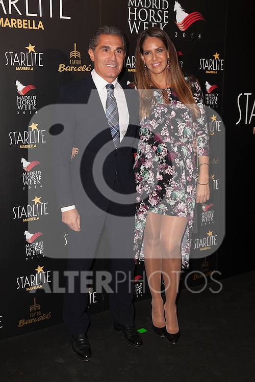 Sergio Scariolo and wife Blanca Ares attends Starlite 2015 presentation party at the Barcelo Theater on November 26, 2014 in Madrid, Spain. (ALTERPHOTOS / Nacho Lopez)