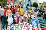 Love Listowel Marketing Group hosted a Family Fun Evening in the Square, Listowel on Sunday. Pictured were Front l-r  Wendy Sheehy, James Sheehy, Ciara Sheehy and Jack Sheehy. Back l-r  Lauren Wolfe and Siobhan Keane