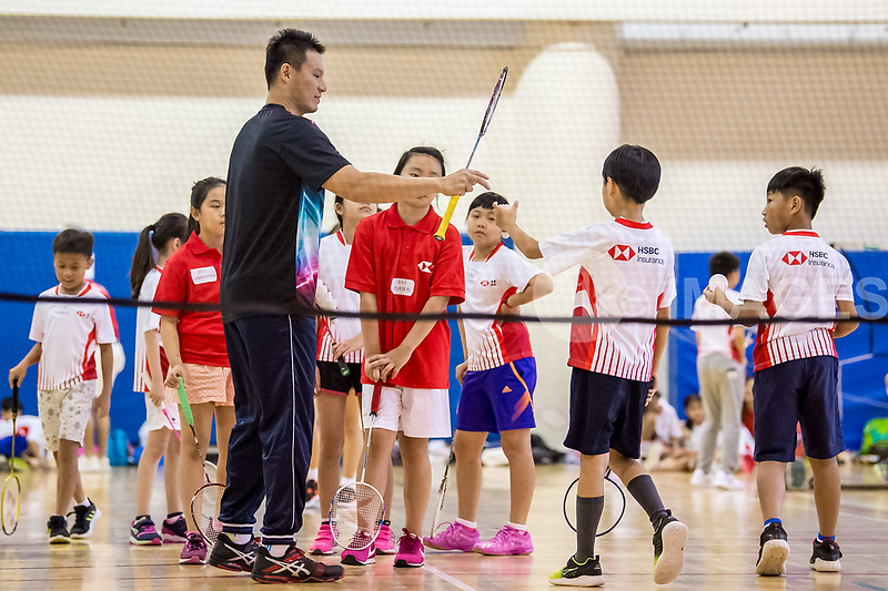 HSBC Insurance Let's Play Badminton Coaching Clinic | ike images