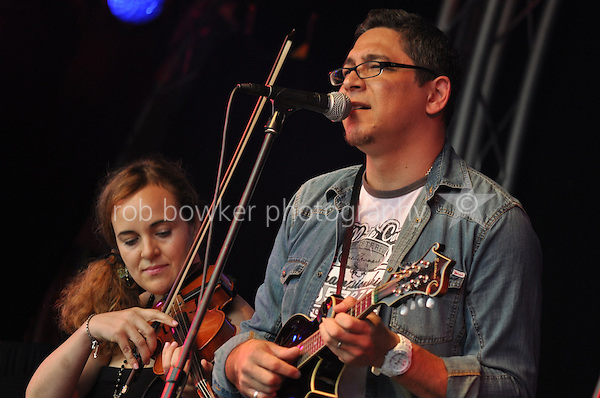 Papa Truck, main stage, Kinecroft, Bunkfest 2014. Wallingford. 30.08.2014