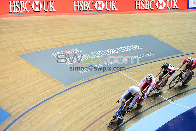Picture by Simon Wilkinson/SWpix.com - 29/01/2017 - Cycling HSBC UK National Track Championships - HSBC UK National Cycling Centre, Manchester. The Brief