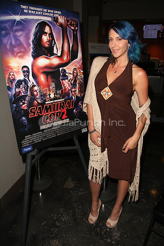 Nicole D'Angelo at the Samurai Cop 2 Deadly Vengeance Premiere at  Laemmle in North Hollywood, California on October 9, 2015. Credit: David Edwards/MediaPunch