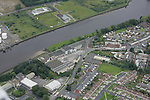 Aerial images of Drogheda..Greenhills area  with former ushers factory..Photo: Newsfile / Fran Caffrey.