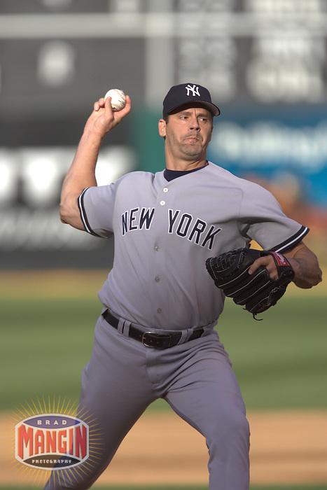 Kevin Brown. Baseball: New York Yankees vs Oakland Athletics. Oakland, CA 5/14/2005 MANDATORY CREDIT: Brad Mangin
