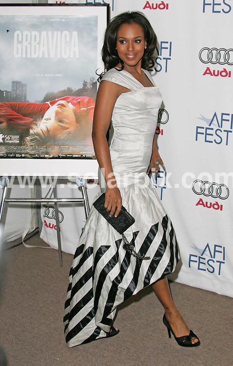 ALL ROUND PICTURES FROM SOLARPIX.COM.SYNDICATION RIGHTS FOR UK, SOUTH AFRICA, DUBAI, AUSTRALIA..Kerry Washington attends the World Premiere of the Dead Girl at the Village, Loft - Hollywood, CA..DATE: 07/11/2006-JOB REF: 3106-PHZ.**MUST CREDIT SOLARPIX.COM OR DOUBLE FEE WILL BE CHARGED**