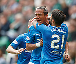 13.05.2018 Hibs v Rangers: Bruno Alves celebrates his goal
