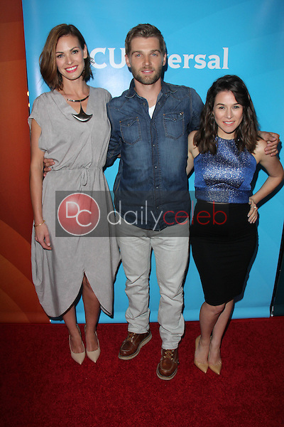 Daisy Betts, Mike Vogel, Yael Stone<br /> at the NBCUniversal Press Tour, Beverly Hilton, Beverly Hills, CA 08-12-15<br /> Dave Edwards/DailyCeleb.com 818-249-4998