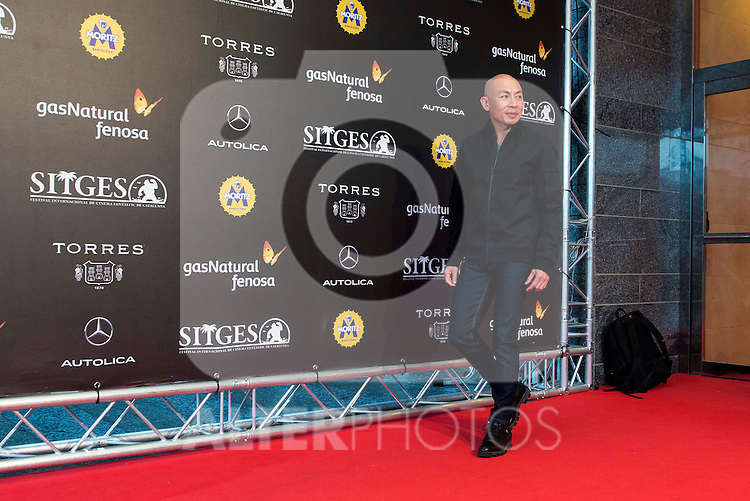 "Hongkonger director Dante Lam pose to the media during the presentation of the film ""Operation Mekong"" at Festival de Cine Fantastico de Sitges in Barcelona. October 10, Spain. 2016. (ALTERPHOTOS/BorjaB.Hojas)"