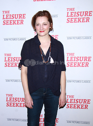 NEW YORK, NY January 11, 2018:Francesca Faridany attend Sony Pictures Classics  present screening of The Leisure Seeker  at AMC Loews Lincoln Square  in New York City.January  11, 2018. Credit:RW/MediaPunch