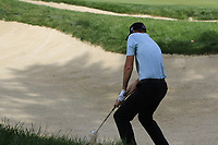 Brendan Steele (USA) chips from a bunker at the 2nd green during Sunday's Final Round of the WGC Bridgestone Invitational 2017 held at Firestone Country Club, Akron, USA. 6th August 2017.<br /> Picture: Eoin Clarke | Golffile<br /> <br /> <br /> All photos usage must carry mandatory copyright credit (&copy; Golffile | Eoin Clarke)