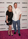 WEST HOLLYWOOD, CA - OCTOBER 12: Kathy Hilton and Rick Hilton arrive at Cosmopolitan Magazine's 50th Birthday Celebration at Ysabel on October 12, 2015 in West Hollywood, California.