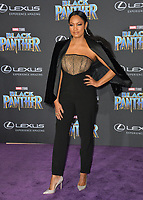 "Garcelle Beauvais at the world premiere for ""Black Panther"" at the Dolby Theatre, Hollywood, USA 29 Jan. 2018<br /> Picture: Paul Smith/Featureflash/SilverHub 0208 004 5359 sales@silverhubmedia.com"