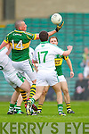 Kieran Donaghy plucks the loose ball in the Muster Senior Semi final held in The Gaelic Grounds last Saturday evening.