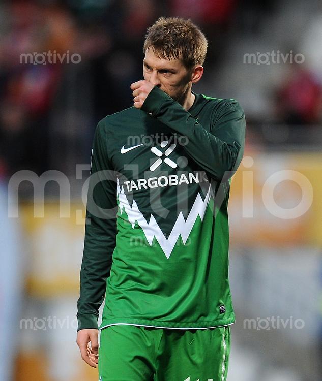 1. Fussball Bundesliga  Saison  2010/2011   21. Spieltag  05.02.2011 1 FSV Mainz 05 - SV Werder Bremen Aaron Hunt (SV Werder Bremen)