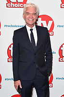 LONDON, UK. September 10, 2018: Phillip Schofield at the TV Choice Awards 2018 at the Dorchester Hotel, London.<br /> Picture: Steve Vas/Featureflash