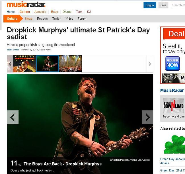 MusicRadar - March 2013