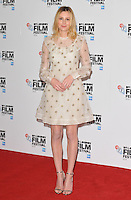 Laura Carmichael at the 60th BFI London Film Festival &quot;A United Kingdom&quot; opening gala press conference and photocall, The May Fair Hotel, Stratton Street, London, England, UK, on Wednesday 05 October 2016.<br /> CAP/CAN<br /> &copy;CAN/Capital Pictures /MediaPunch ***NORTH AND SOUTH AMERICAS ONLY***