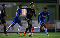 during the Under 23 Premier League 2 match between Chelsea U23 and Leicester City U23 at the Electrical Services Stadium, Aldershot, England on 2 February 2018. Photo by Andy Rowland / PRiME Media Images.