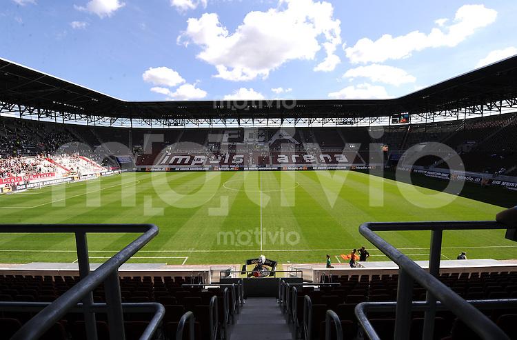 2. Fussball Bundesliga :  Saison   2009/2010   16.08..2009 FC Augsburg - Rot Weiss Oberhausen Impuls Arena in Augsburg