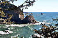 Rugged coastline, Brookings Oregon