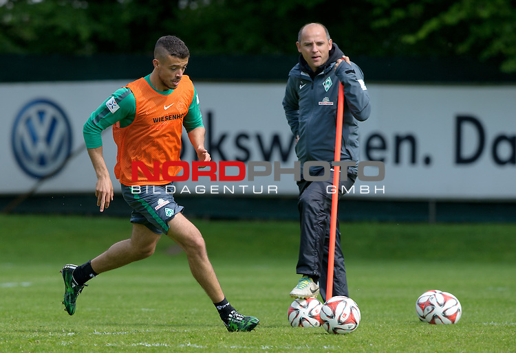07.05.2015, Trainingsgelaende, Bremen, GER, 1.FBL, Training Werder Bremen, im Bild Franco Di Santo (Bremen #9)<br /> <br /> Foto &copy; nordphoto / Frisch