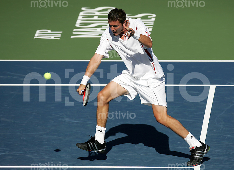 Tennis Masters Series Toronto Rogers Cup 2006 Marat SAFIN (RUS) Rueckhand, backhand.