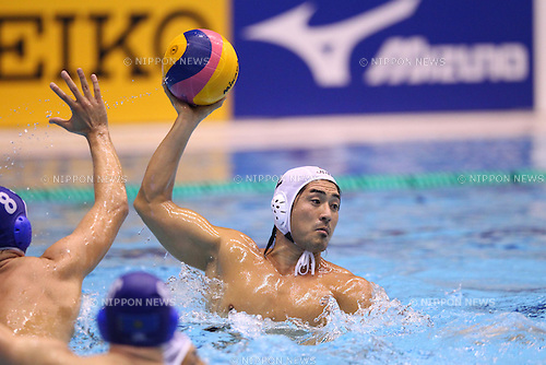 Kan Aoyagi (JPN), JANUARY 26, 2012 - Water Polo : Asian Water Polo Championships 2012 Qualification Tournament for Olympic Games - London Men's Round-robin between Japan 4-6 Kazakhstan at Chiba International General Swimming Center, Chiba, Japan. (Photo by YUTAKA/AFLO SPORT) [1040]