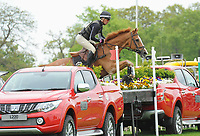 Winner Andrew Nicholson (NZL) riding NEREO   during the Mitsubishi Motors Badminton Horse Trials 2017 Badminton Glos. UK on 6th May 2017.