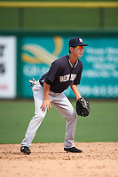 New York Yankees Hoy Jun Park (62) during an instructional league game against the Philadelphia Phillies on September 29, 2015 at Brighthouse Field in Clearwater, Florida.  (Mike Janes/Four Seam Images)