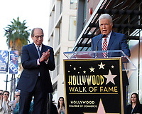 LOS ANGELES - NOV 24:  Harry Friedman, Alex Trebek at the Harry Friedman Star Ceremony on the Hollywood Walk of Fame on November 24, 2019 in Los Angeles, CA