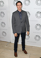 BEVERLY HILLS, CA, USA - JULY 09: Ashley Zukerman at The Paley Center For Media's An Evening With WGN America's 'Manhattan' held at The Paley Center for Media on July 9, 2014 in Beverly Hills, California, United States. (Photo by Xavier Collin/Celebrity Monitor)