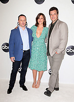 BEVERLY HILLS, CA - August 7: Mercedes Mason, Alexi Hawley, Nathan Fillion, at Disney ABC Television Hosts TCA Summer Press Tour at The Beverly Hilton Hotel in Beverly Hills, California on August 7, 2018. <br /> CAP/MPI/FS<br /> &copy;FS/MPI/Capital Pictures