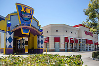 John's Incredible Pizza Co. and TJ Maxx at Buena Park Downtown