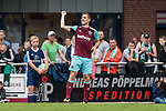 29.07.2017, Heinz-Dettmer-Stadion, Lohne, GER, FSP, SV Werder Bremen vs West Ham United<br /> <br /> im Bild<br /> Tony Martinez (West Ham #29) bejubelt seinen Treffer zum 1:2 / Tony Martinez (West Ham #29) celebrates after scoring, <br /> <br /> Foto © nordphoto / Ewert