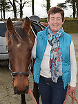 Eileen Irvine and Polo who took part in the Holly's Horse Haven charity Trek at Piperstown Equestrian Centre. Photo:Colin Bell/pressphotos.ie