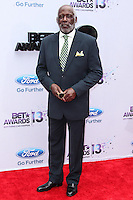 LOS ANGELES, CA - JUNE 30: Richard Roundtree attends the 2013 BET Awards at Nokia Theatre L.A. Live on June 30, 2013 in Los Angeles, California. (Photo by Celebrity Monitor)