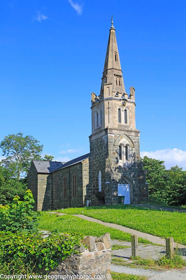 St. Mary's former church now community building, Tremadog, Porthmadog, Gwynedd, north west Wales, UK