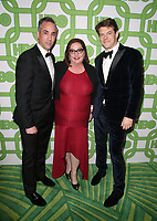 BEVERLY HILLS, CA - JANUARY 6: Jeremy Gold, Marci Wiseman, Jason Blum, at the HBO Post 2019 Golden Globe Party at Circa 55 in Beverly Hills, California on January 6, 2019. <br /> CAP/MPI/FS<br /> ©FS/MPI/Capital Pictures