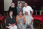 Carmel Vaughey with her family at her 40th in The Star and Crescent....Photo NEWSFILE/Jenny Matthews.(Photo credit should read Jenny Matthews/NEWSFILE)....This Picture has been sent you under the condtions enclosed by:.Newsfile Ltd..The Studio,.Millmount Abbey,.Drogheda,.Co Meath..Ireland..Tel: +353(0)41-9871240.Fax: +353(0)41-9871260.GSM: +353(0)86-2500958.email: pictures@newsfile.ie.www.newsfile.ie.FTP: 193.120.102.198.
