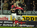 30/12/2006       Copyright Pic: James Stewart.File Name : sct_jspa08_falkirk_v_inverness.ANTHONY STOKES CELEBRATES AFTER HE SCORES FALKIRK'S SECOND.James Stewart Photo Agency 19 Carronlea Drive, Falkirk. FK2 8DN      Vat Reg No. 607 6932 25.Office     : +44 (0)1324 570906     .Mobile   : +44 (0)7721 416997.Fax         : +44 (0)1324 570906.E-mail  :  jim@jspa.co.uk.If you require further information then contact Jim Stewart on any of the numbers above.........