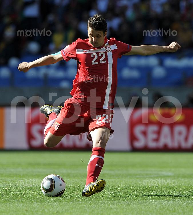 FUSSBALL WM 2010   VORRUNDE    Gruppe D   18.06.2010 Deutschland - Serbien Zdravko KUZMANOVIC (Serbien)