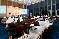 Conference Room with Speaker and Delegates, Abu Dhabi