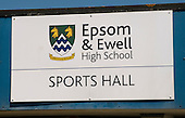 Sign outside the sports hall, state secondary school.