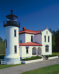 Fort Casey State Park, WA<br /> Admiralty Head Lighthouse (1860) at Fort Casey State Park on Whidbey Island
