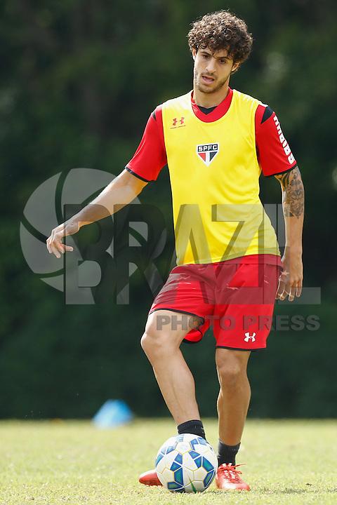 vHudson durante treino do São Paulo Futebol Clube, na manhã desta sexta-feira (15), no Centro de Treinamento da Barra Funda, zona oeste da capital paulista (Foto: Adriana Spaca / Brazil Photo Press)