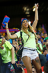 FC Barcelona's supporter during Spanish Kings Cup Final match. May 22,2016. (ALTERPHOTOS/Acero)
