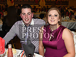 Aaron Callan and Miriam McQuail at St. Kevin's GFC annual Dinner in the Grove House Hotel Dunleer. Photo:Colin Bell/pressphotos.ie